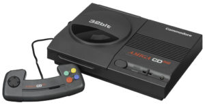Amiga CD32 with controller