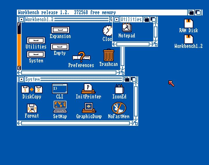 The Amiga Museum » Workbench 1 2