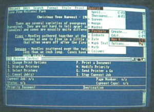 WordPerfect on the Amiga