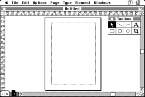 Pagemaker on Macintosh
